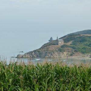 chapelle vue de la côte